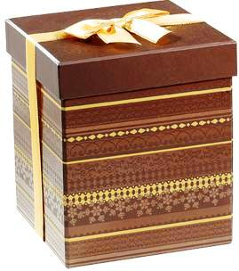 Lindt Tri-Level Gift Box